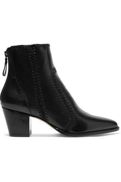 Alexandre Birman   Benta whipstitched leather ankle boots   NET-A-PORTER.COM