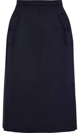Holly Twill Pencil Skirt