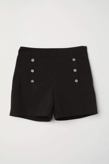 Tailored Shorts - Black