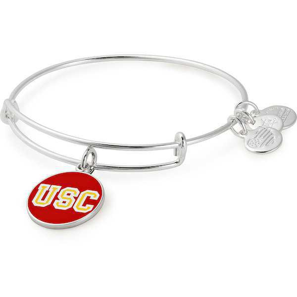 Women's Alex & Ani USC Trojans Enamel Stack Bracelet | Official USC Trojan Athletics Store