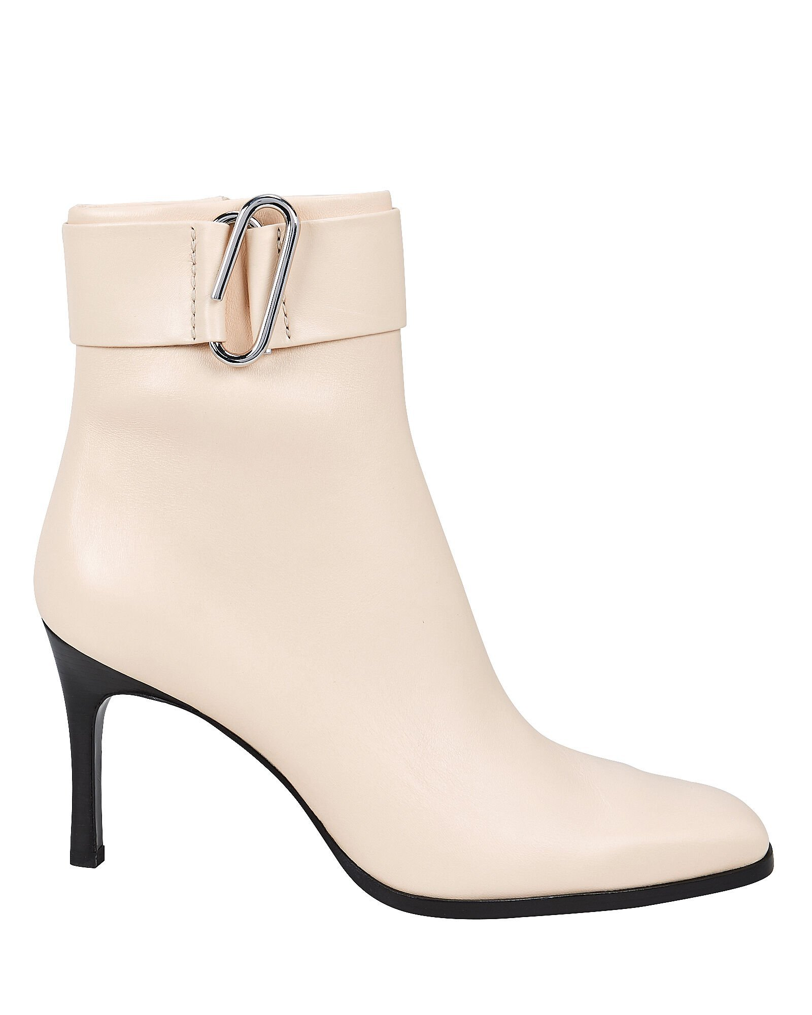 Alix Heeled Leather Booties