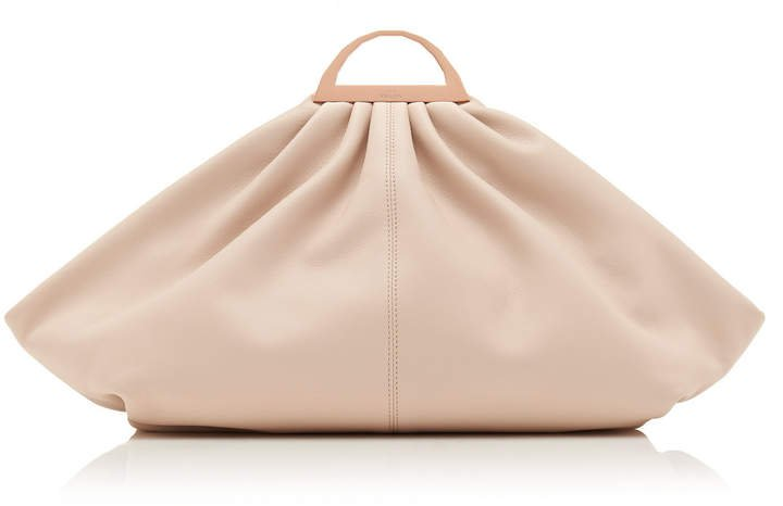 The Volon Gabi Oversized Leather Clutch