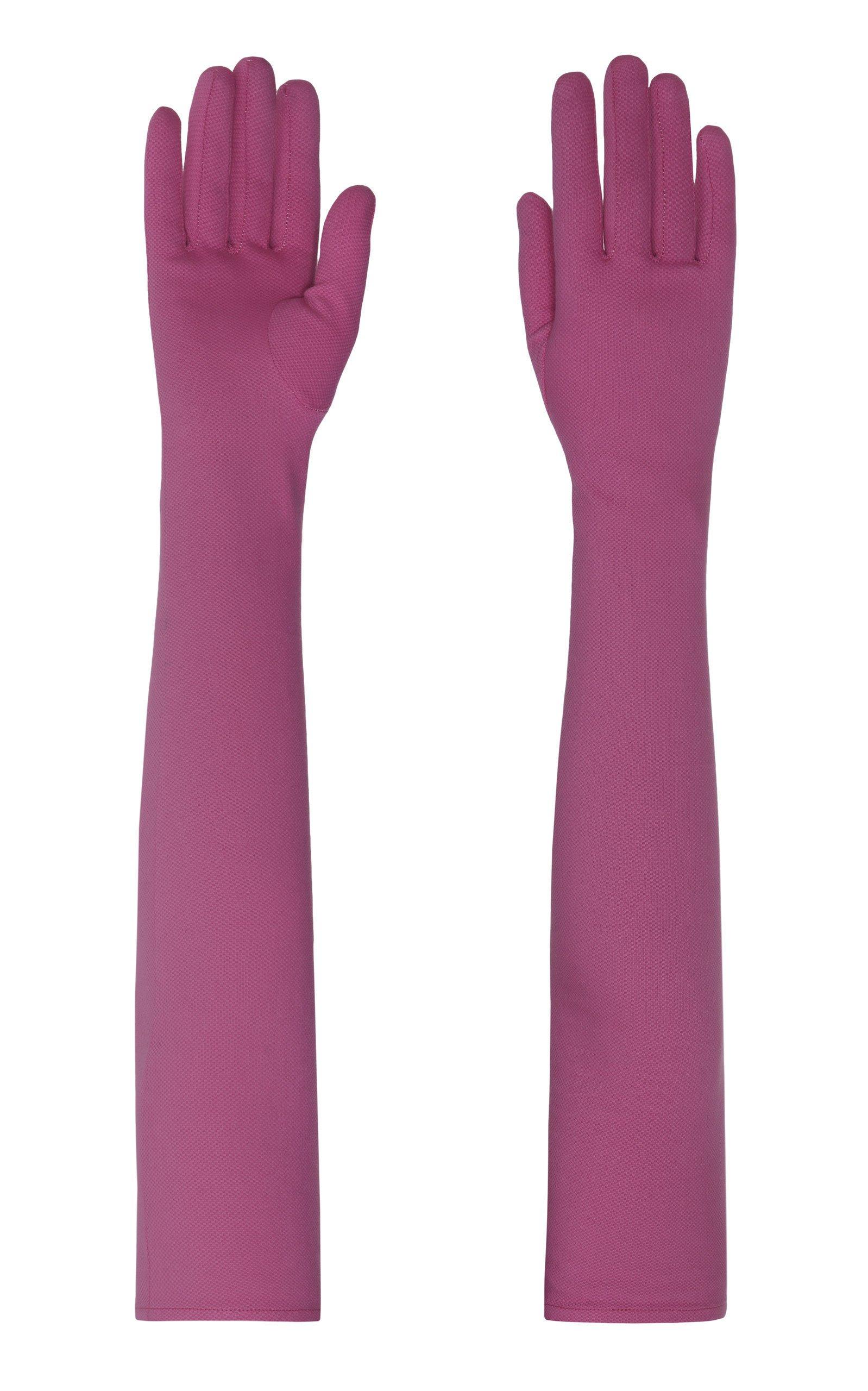 Lado Bokuchava Cotton Arm Length Gloves