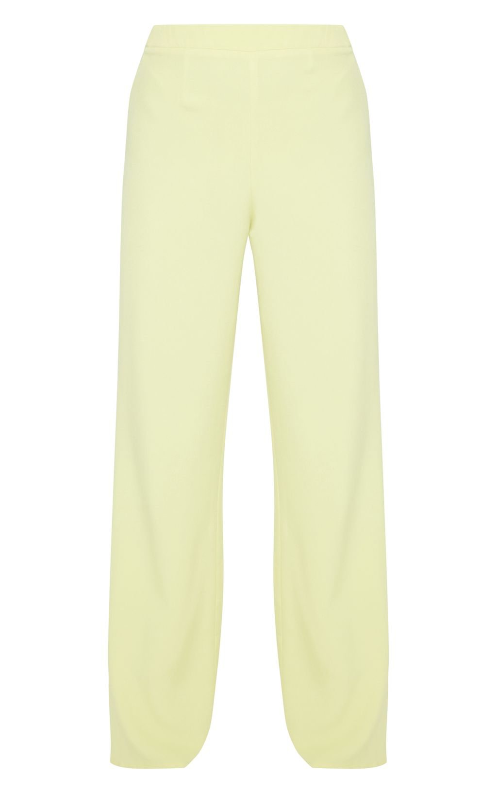 Neon Lime Wide Leg Suit Trouser   Trousers   PrettyLittleThing USA