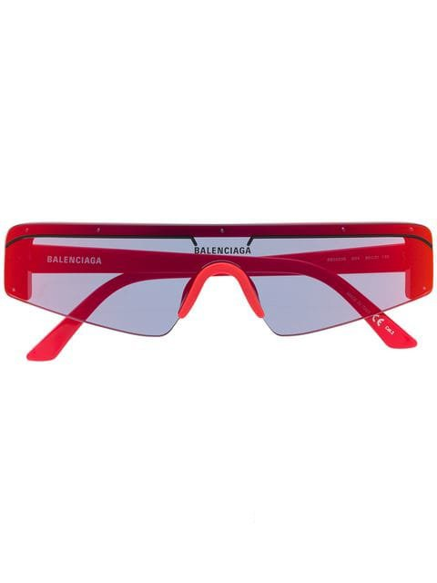 Balenciaga Eyewear futuristic sunglasses