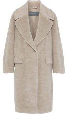 Alpaca And Wool-blend Coat