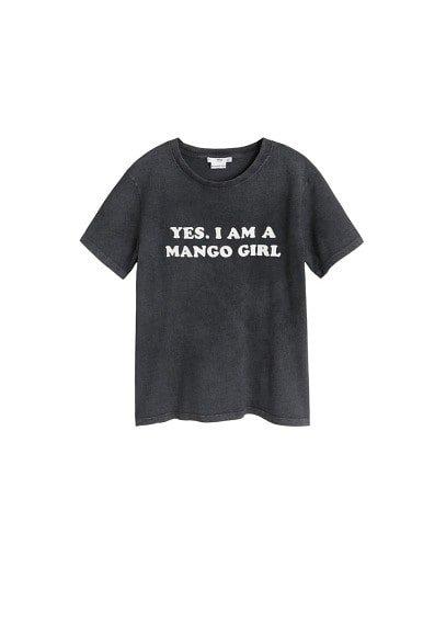 MANGO Mango Girls printed t-shirt