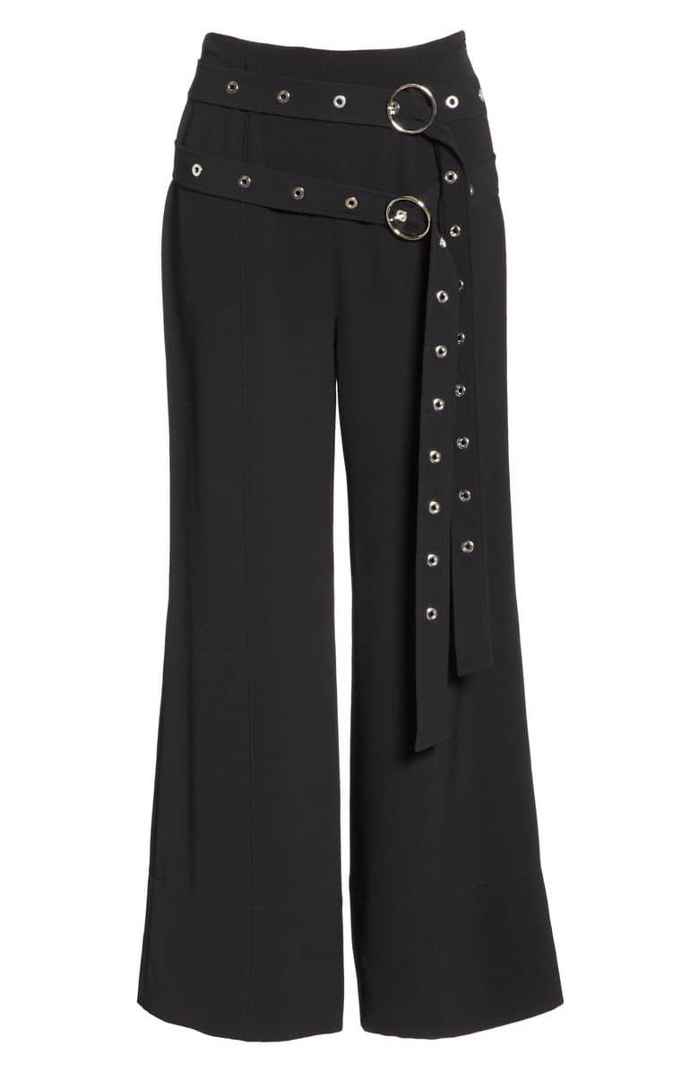 Cinq à Sept Jessi Double Belt Pants | Nordstrom