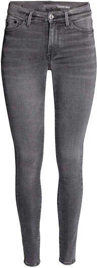 Shaping Skinny Regular Jeans - Gray