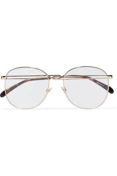 Givenchy   Round-frame gold-tone optical glasses   NET-A-PORTER.COM