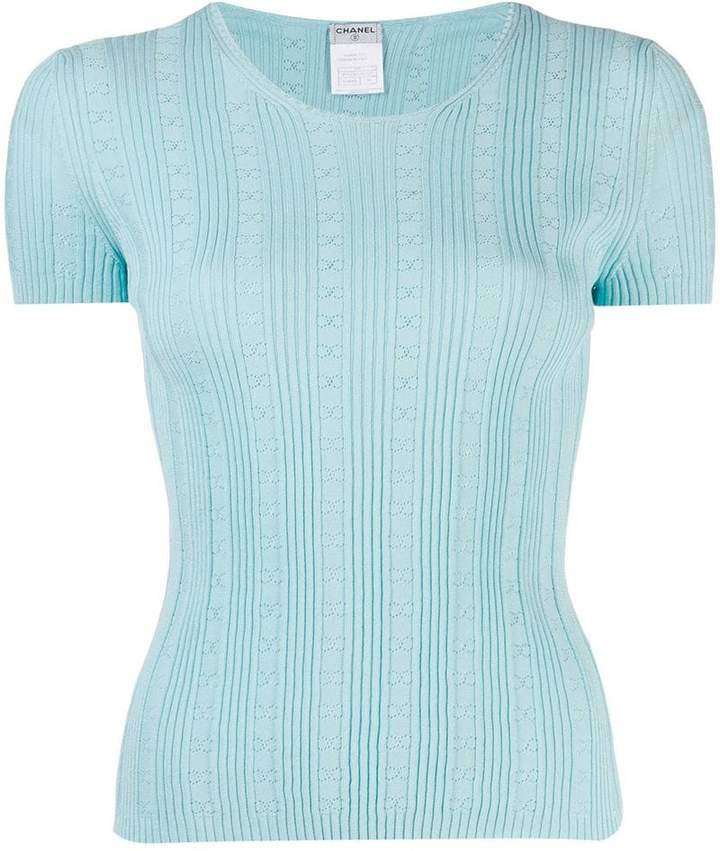 PRE-OWNED 2005 CC knitted top