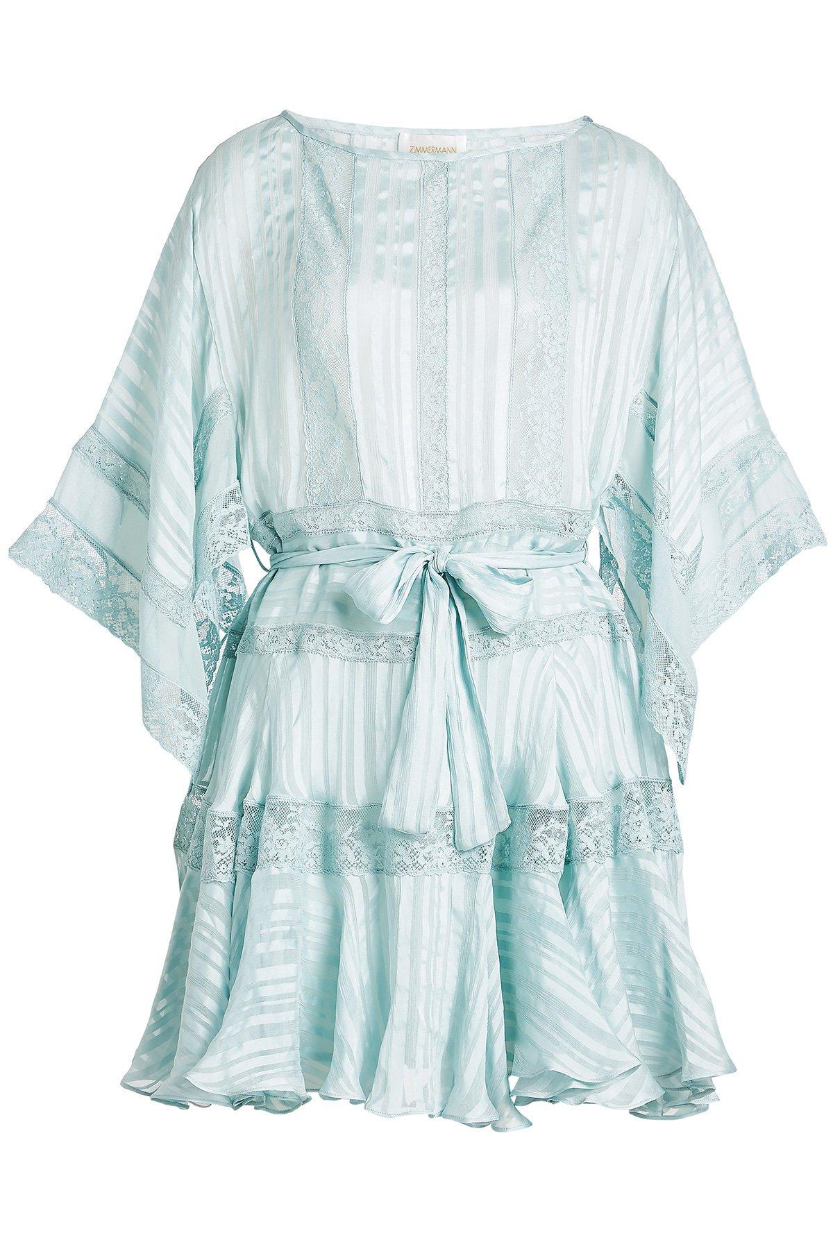 Veil Mini Dress in Silk Gr. 2