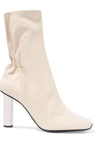 Proenza Schouler   Leather ankle boots   NET-A-PORTER.COM