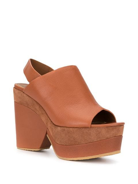 See By Chloé Suede Panel Wedges - Farfetch