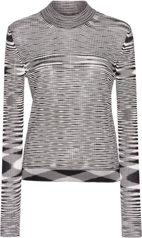 Crewneck Long Sleeve Top Size: 40