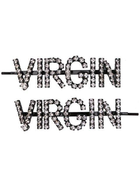 Ashley Williams Virgin Embellished Hair Clips - Farfetch