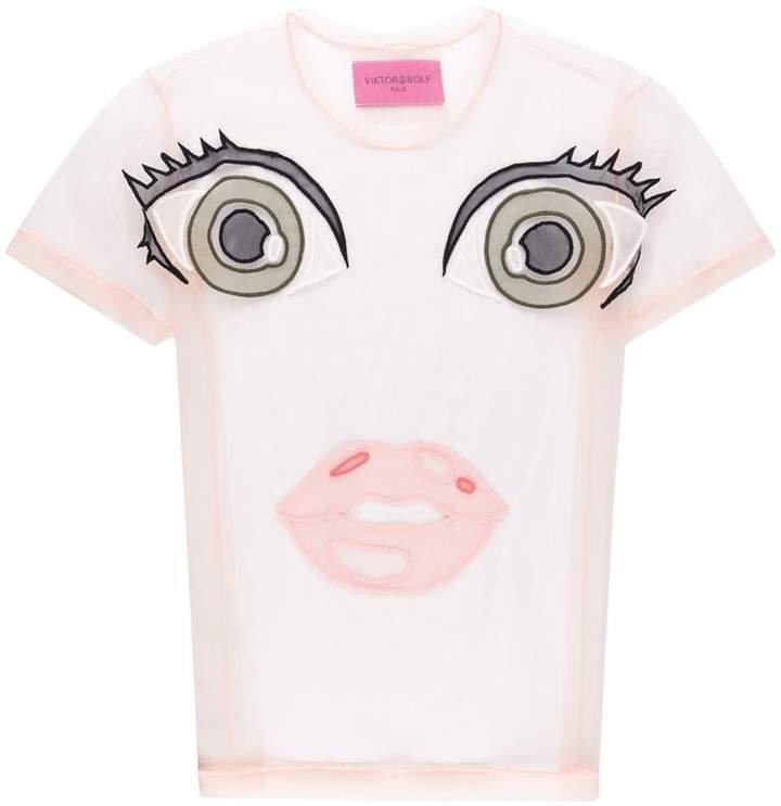 Action Dolls motif T-shirt