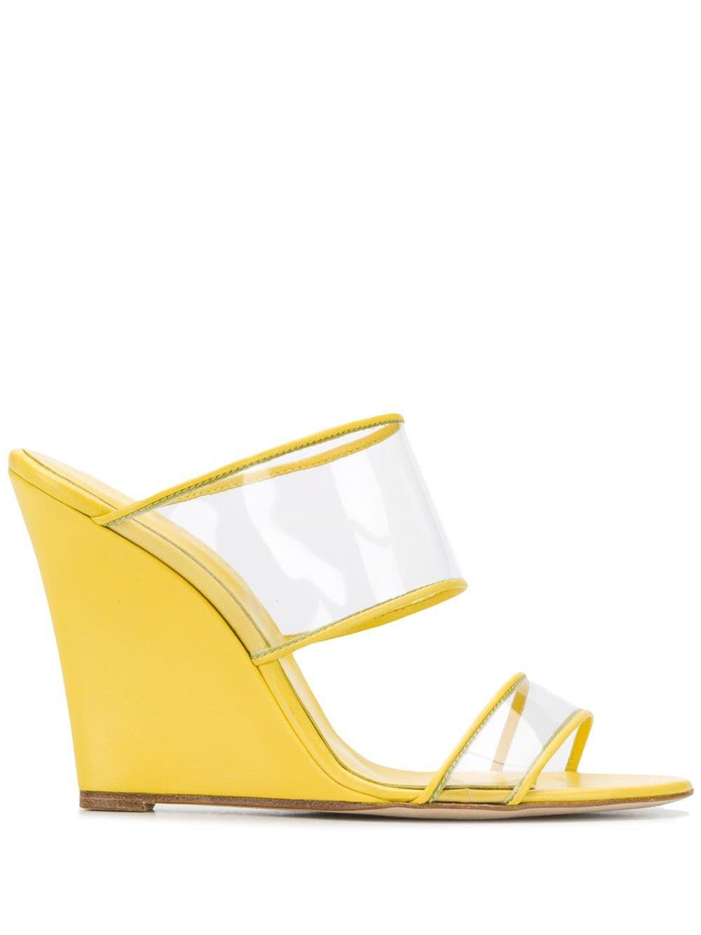 Paris Texas Wedge Sandals - Farfetch
