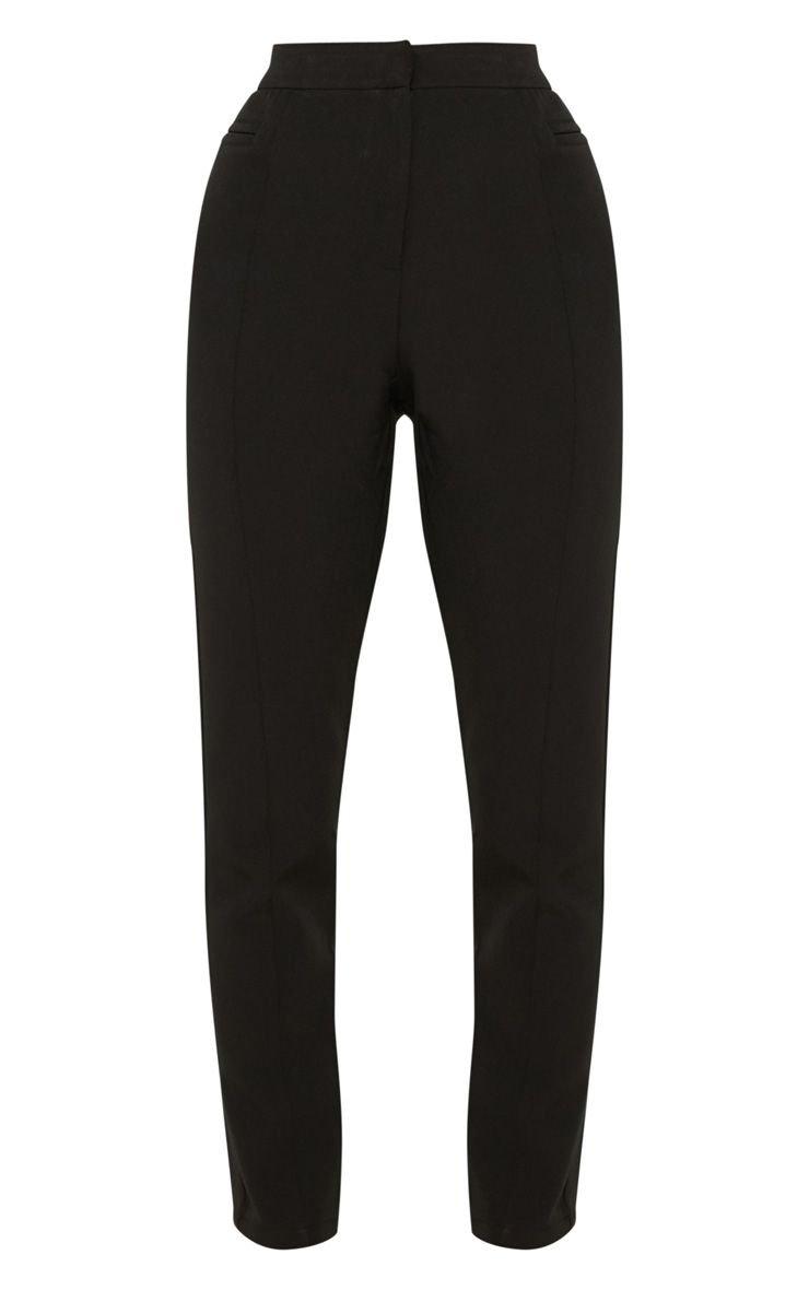 Avani Black Suit Pants   Pants   PrettyLittleThing USA