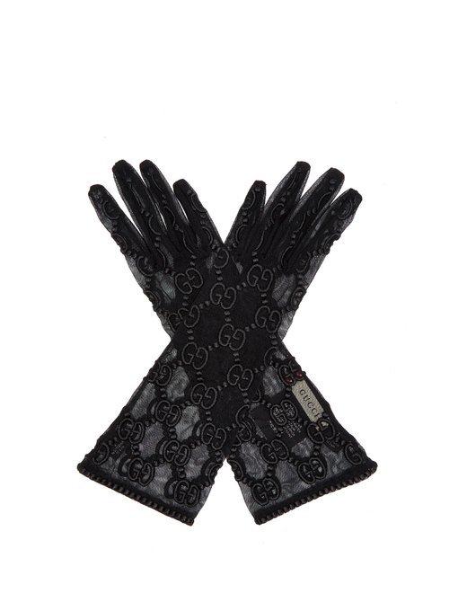 GG motif lace gloves | Gucci | MATCHESFASHION.COM
