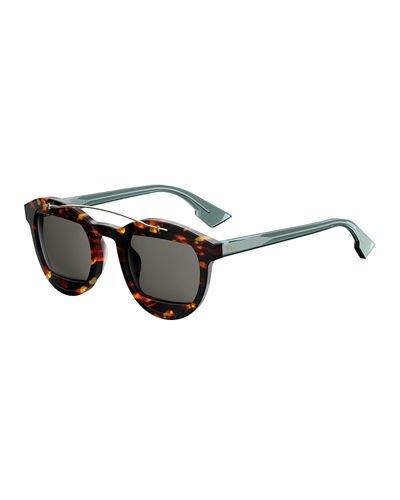 dior sunglasses round