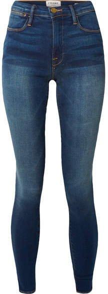 Le High Skinny Jeans - Dark denim