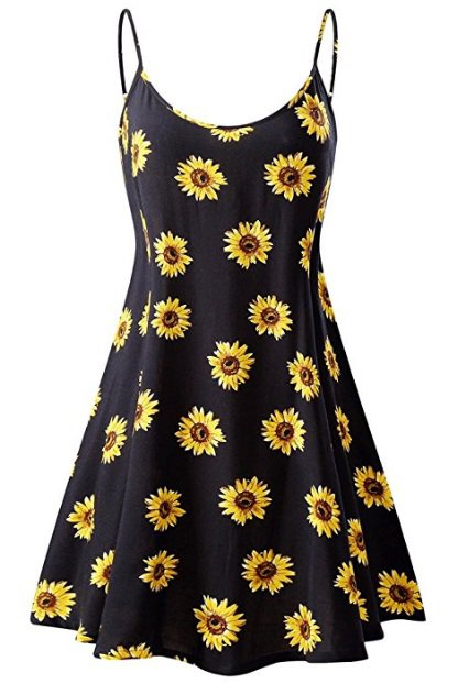 Sunflower 90's Dress