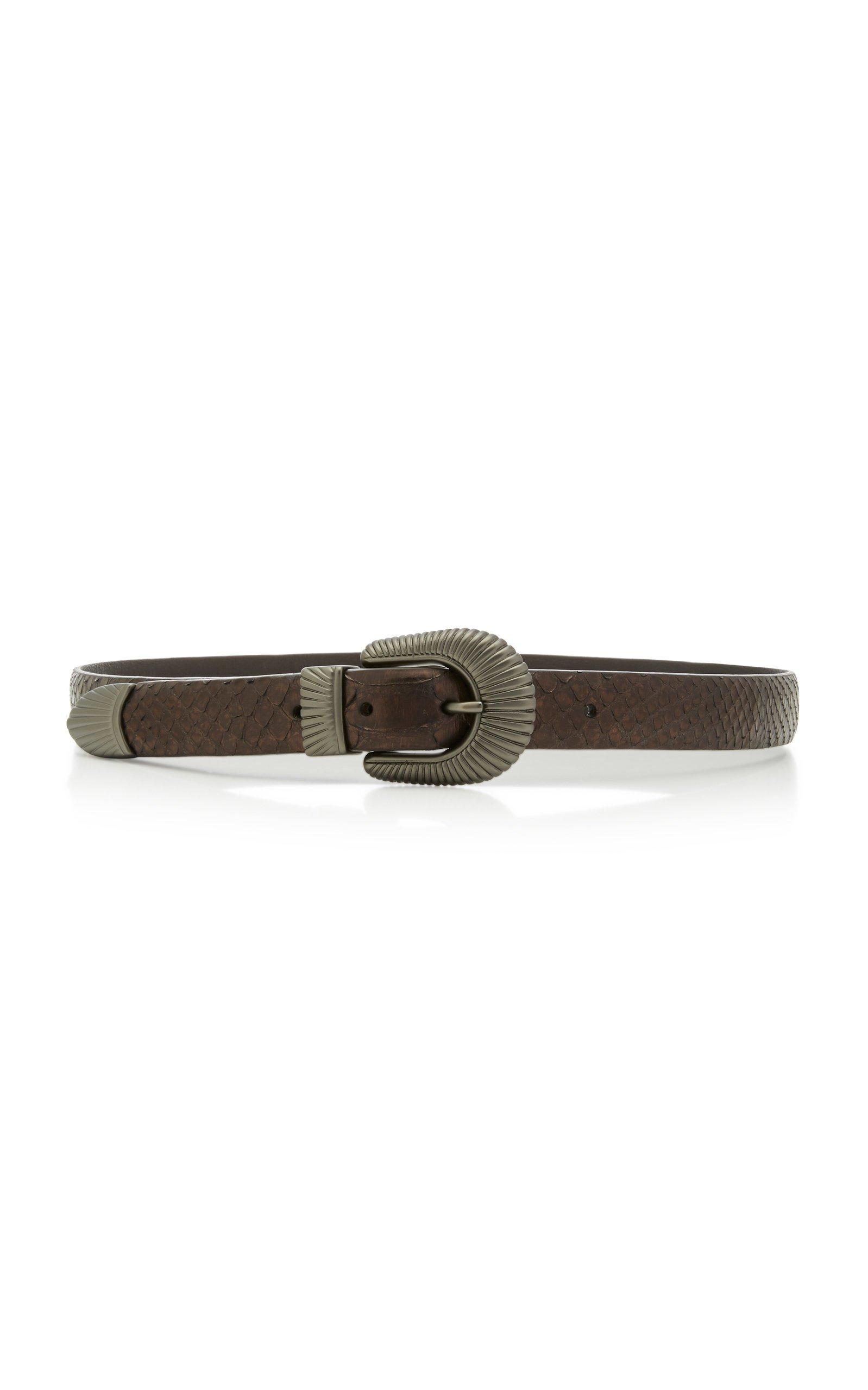 Anderson's Python Belt Size: 75 cm