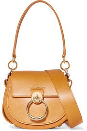 Chloé | Chloé C mini color-block lizard-effect leather shoulder bag | NET-A-PORTER.COM