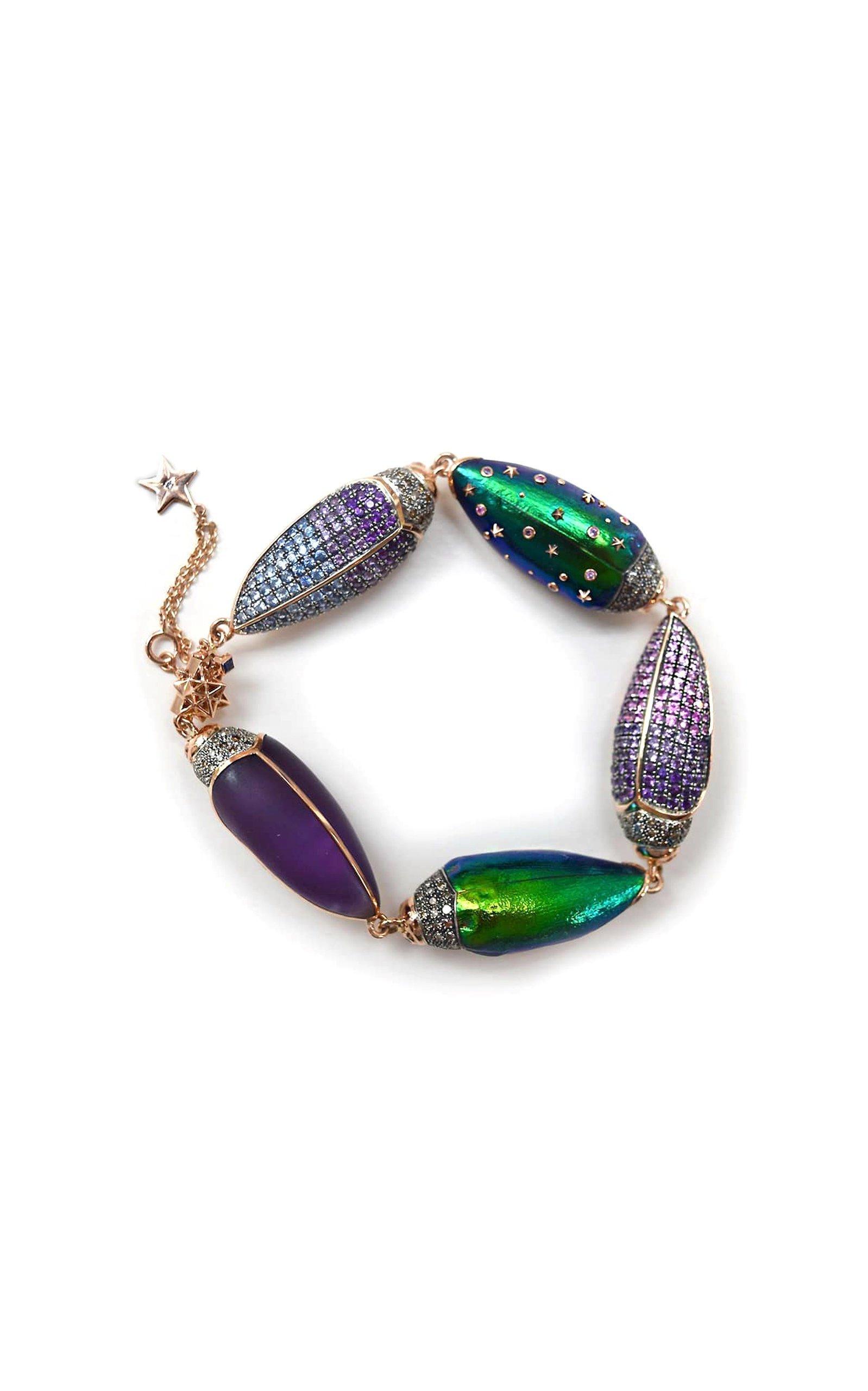 Bibi van der Velden Big Scarab Bracelet