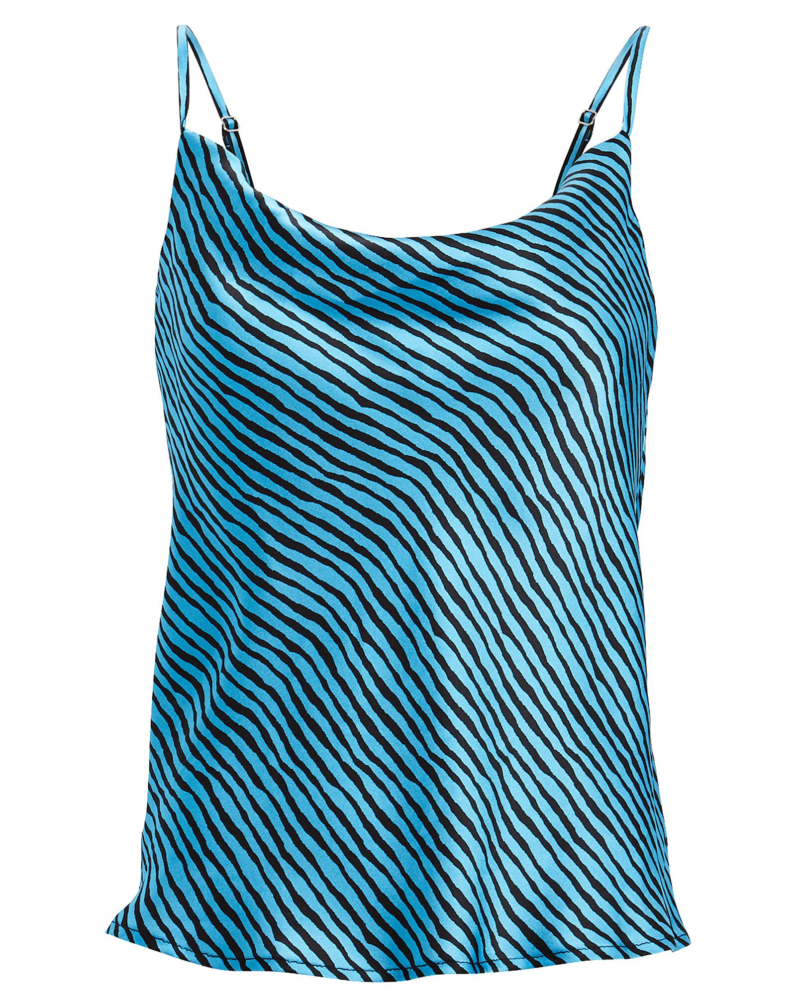 Olivia Rubin | Clover Striped Silk Camisole | INTERMIX®