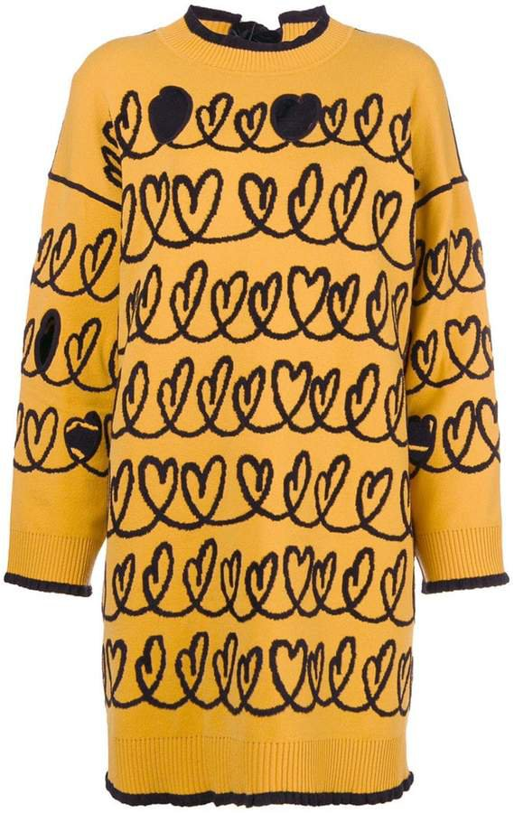 maxi knit sweater
