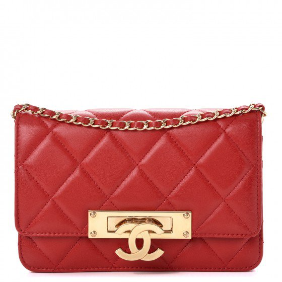 Chanel red bag