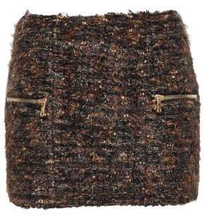 Boucle-tweed Mini Skirt