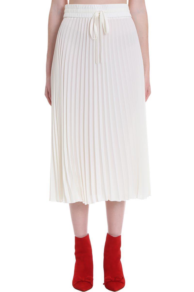 RED Valentino Skirt In White Cotton