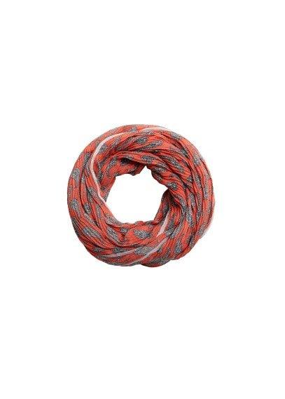 MANGO Paisley print scarf