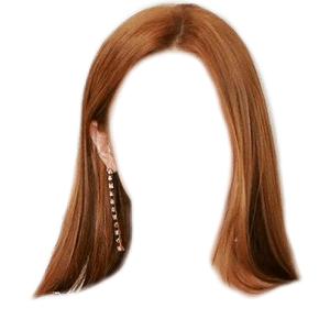 Brown Auburn Hair PNG