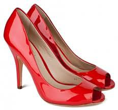 cherry red heels - Google Search