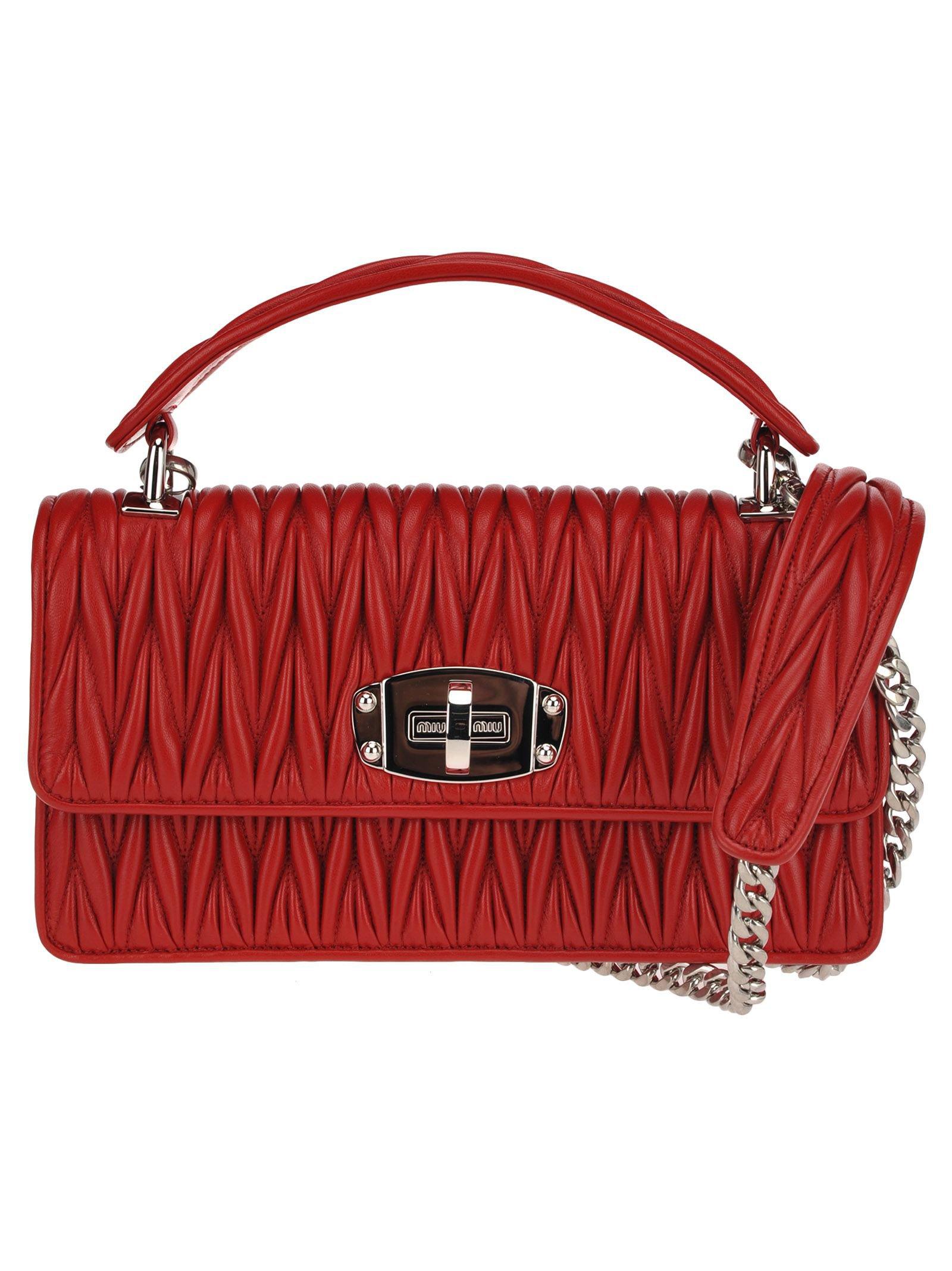 Miu Miu Miu Miu Cleo Shoulder Bag