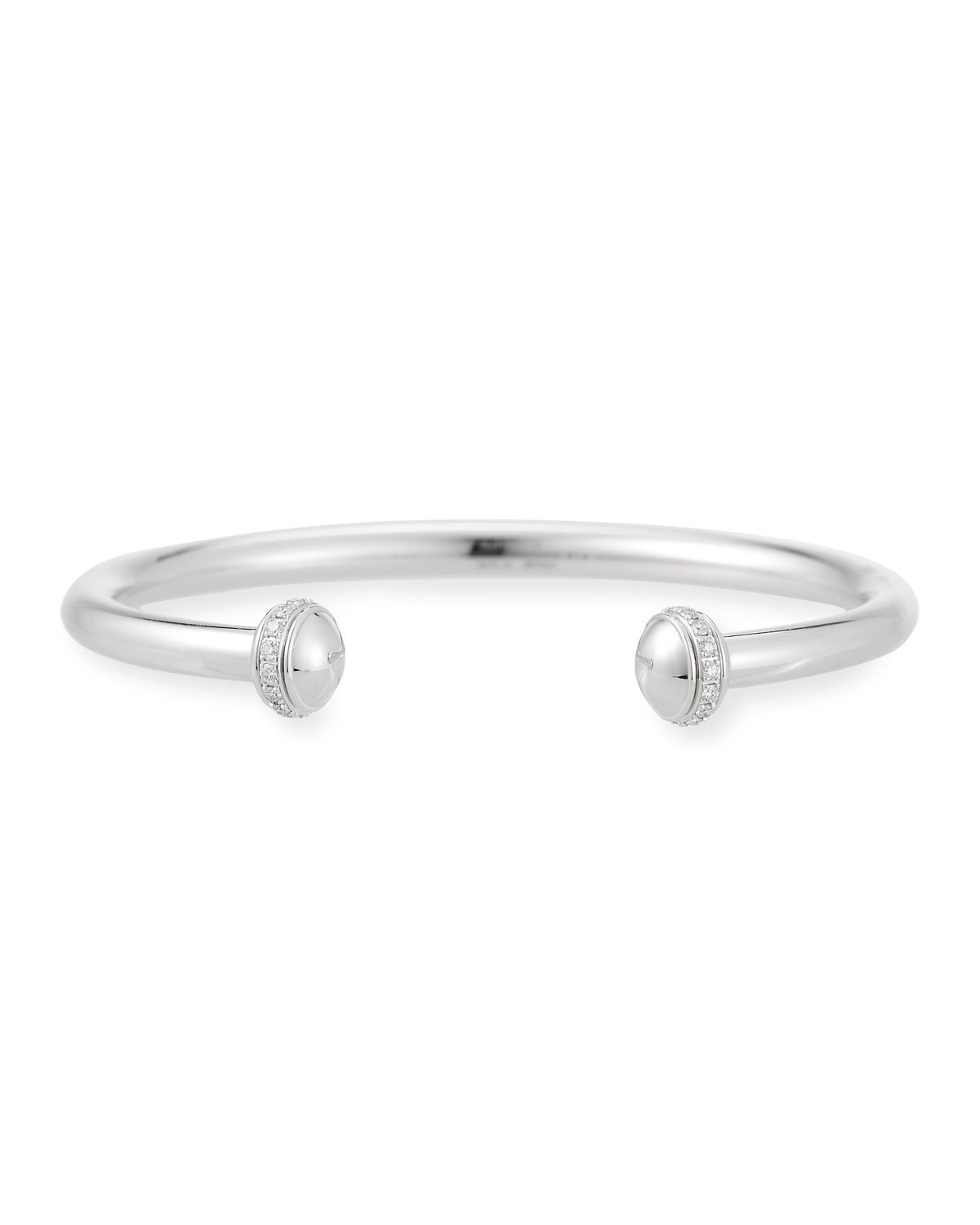 PIAGET Possession Open Cuff Bracelet with Diamonds in 18K White Gold   Neiman Marcus