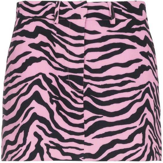 Ashley Williams Scuba Tiger Print Mini Skirt