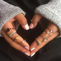Pinterest - 13pcs rings set. Size:as picture shows. USA,Canada,United Kingdom,Australia,France,Gemany,Spain,Ireland,Italy,Others. Canada,United King | Hufs