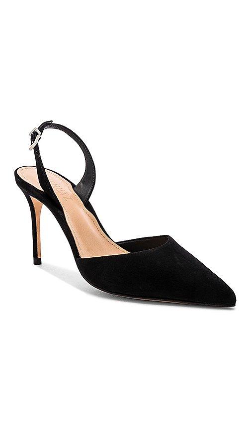 Schutz Maysha Heel in Black | REVOLVE