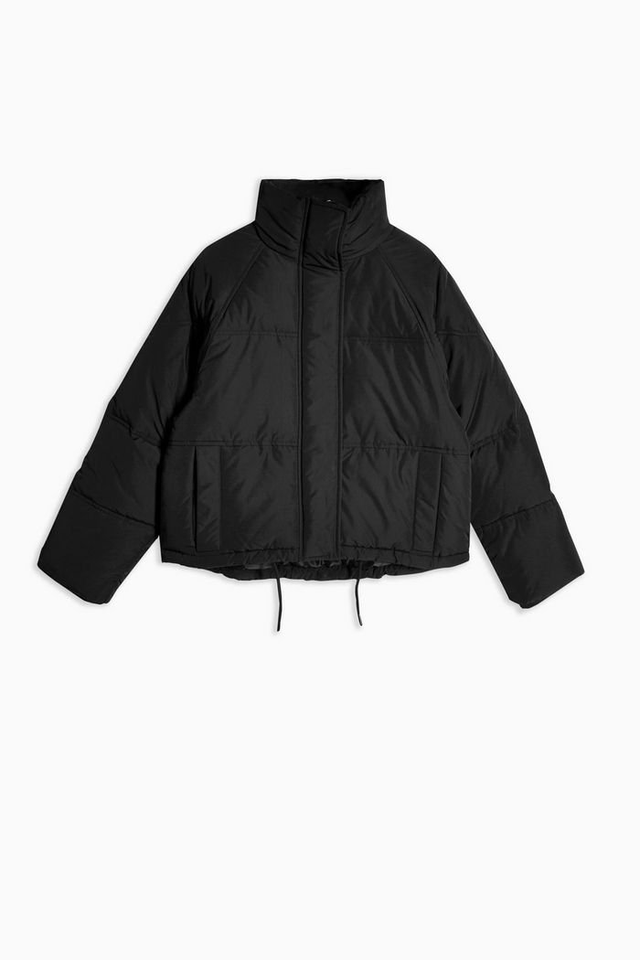 Classic Black Padded Puffer Jacket | Topshop