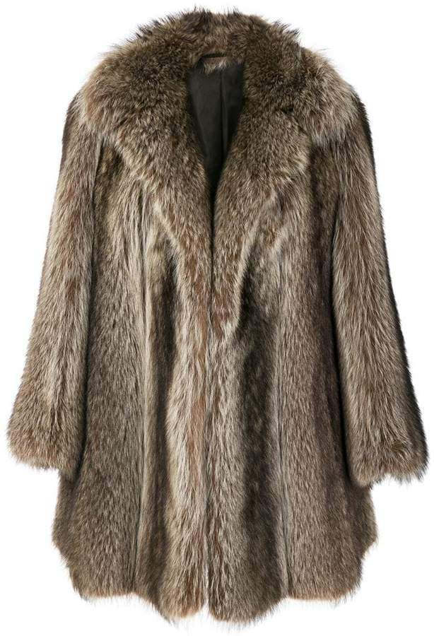 Pre-Owned possum fur coat