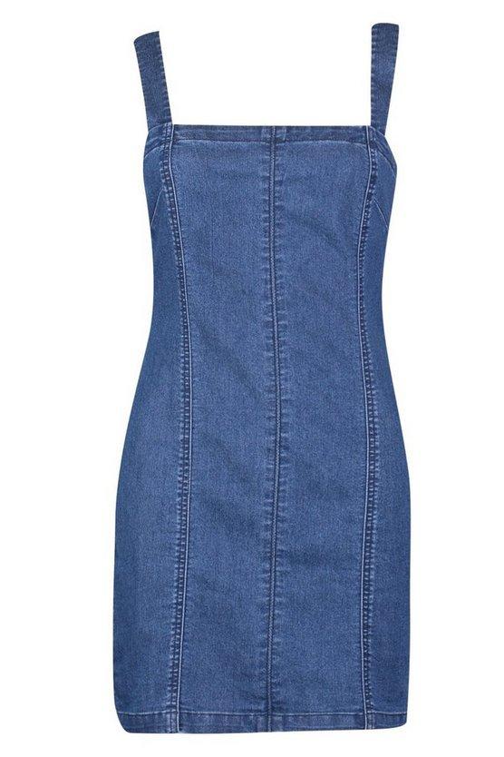 Denim Bodycon Dress | Boohoo