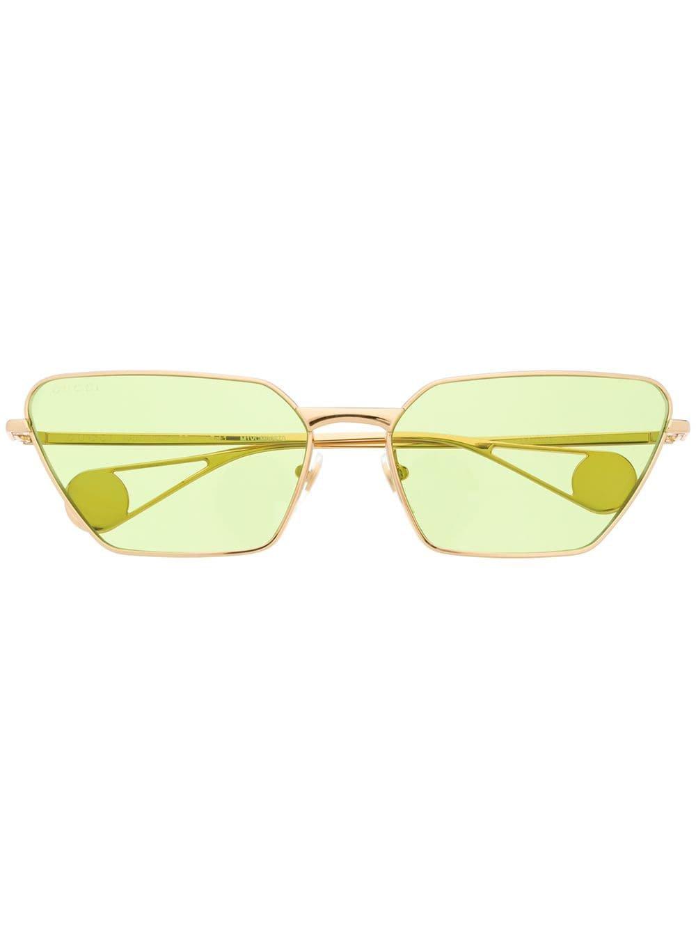 Gucci Eyewear Cat Eye Frame Sunglasses - Farfetch