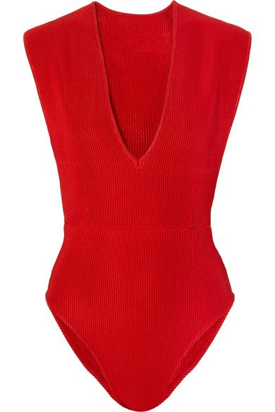 Haight | Ribbed-knit bodysuit | NET-A-PORTER.COM