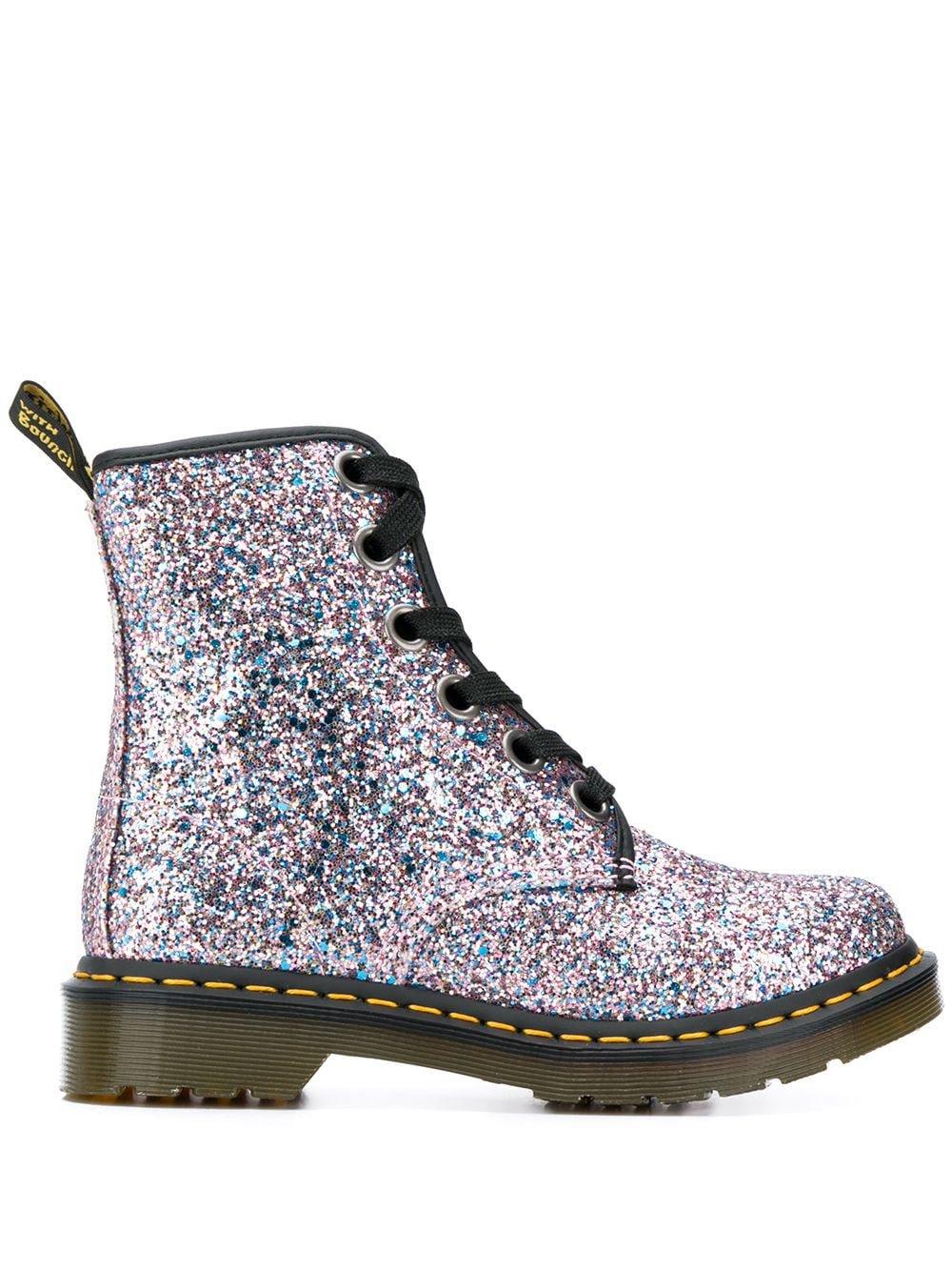 Dr. Martens Glitter Embellished Boots