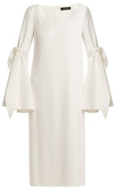 Cindy Cut Out Midi Dress - Womens - Ivory
